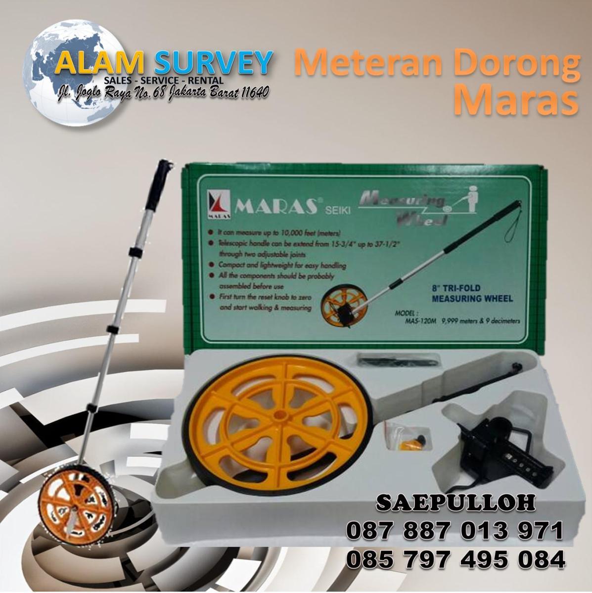 Meteran Dorong Maras Call